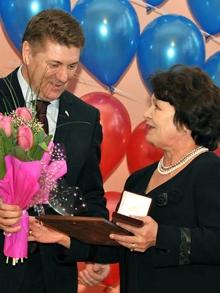 Церемония награждения Женщина года 2012 в Оренбурге